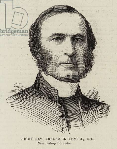 Right Reverend Frederick Temple, DD (engraving)