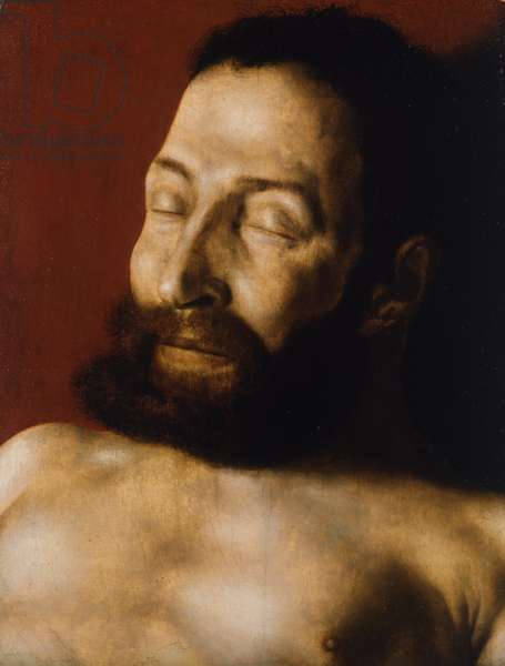 Death Portrait of an Unknown Man, 1530 (oil on oak panel)