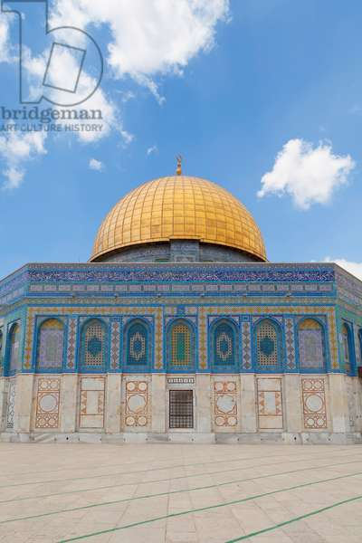 The Dome of the Rock, Temple mount, Jerusalem