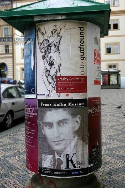 Kafka Poster Prague