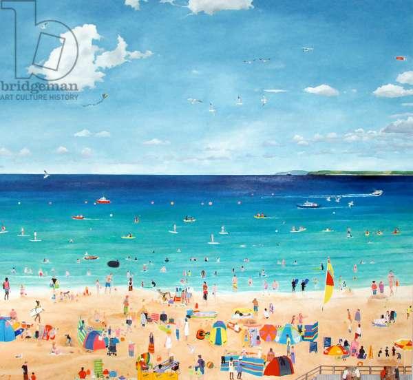 Seaside I, 2014 (oil on linen)
