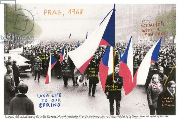 Prag, 1968, 2014-18 (ink pigment print on Hahnemühle paper)