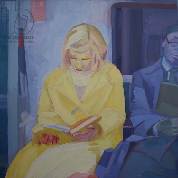 'Underground 3', 2013, (oil on primed aluminium)