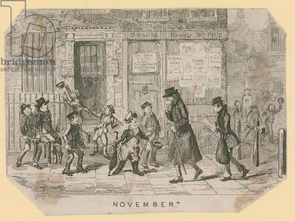 Guy Fawkes Night (engraving)