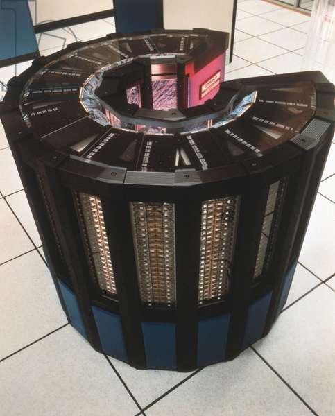 Cray - 2 supercomputer by NASA