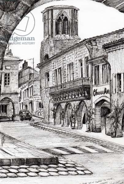 Sauveterre France, 2010 (ink on paper)