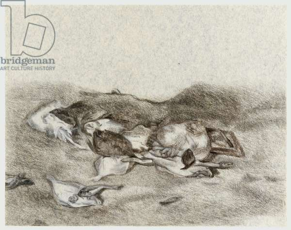 Drawing after Turner, 1987 (chalk & charcoal on paper)
