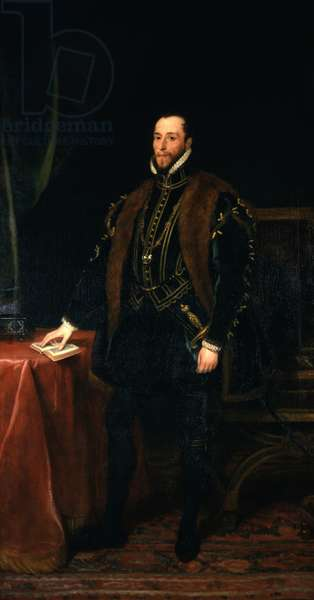 An historical portrait of Thomas, 7th Earl of Northumberland, 1831 (oil on canvas)