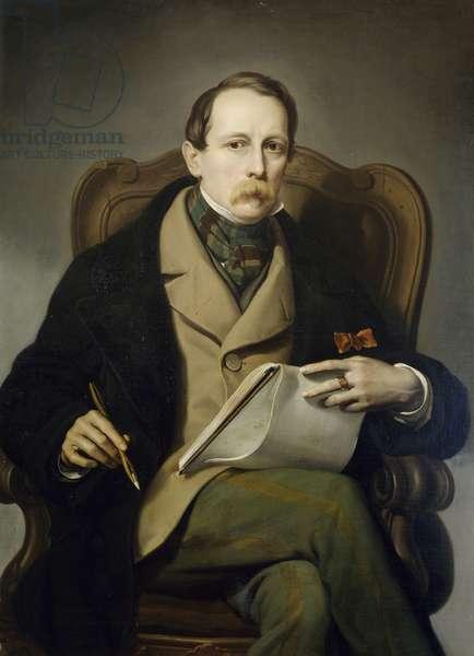 Self-Portrait, by Francis Coghetti (1802-1875)
