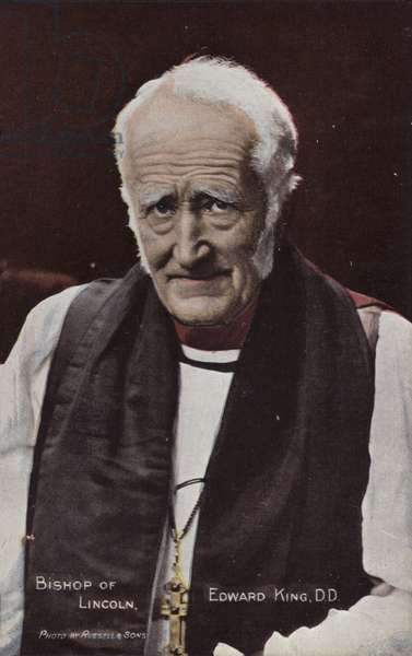 Bishop of Lincoln, Edward King, DD (photo)