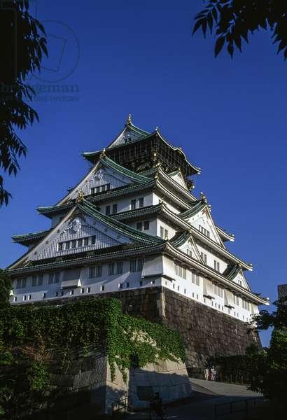 Osaka castle, Kansai, Japan, 16th-20th century