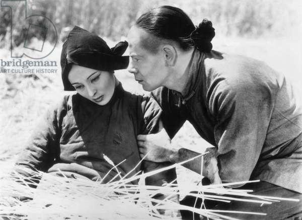 Visages d'orient The Good Earth de Sidney Franklin avec Luise Rainer, Paul Muni, 1937 d'apres le roman de Pearl Buck