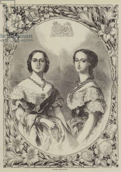Victoria and Eugenie (engraving)