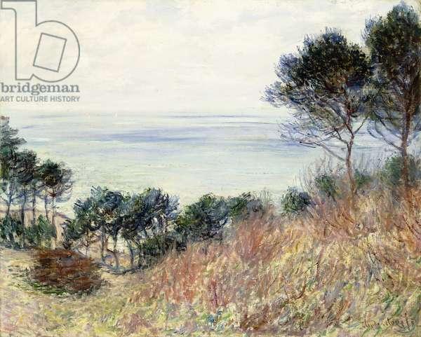 The Coast of Varengeville, 1882 (oil on canvas)