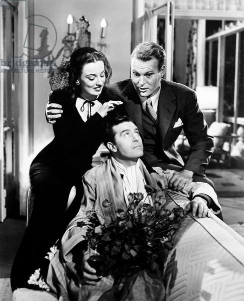 ARE HUSBANDS NECESSARY?, from left, Patricia Morison, Ray Milland, Leif Erickson, 1942