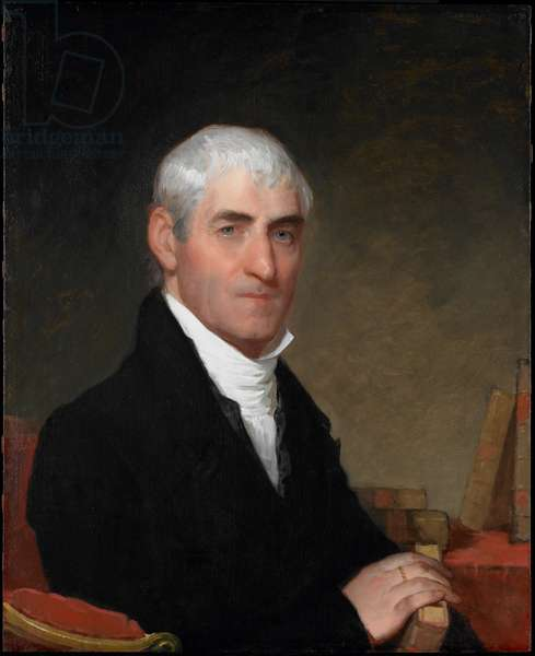 Portrait of Judge Daniel Cony of Maine, c.1815 (oil on panel)
