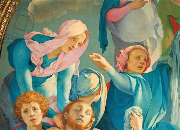 The Deposition from the Cross (Deposizione, Pietà), by Jacopo Carrucci known as Pontormo, 1525 - 1528, 16th Century, oil on board, 313 x 192 cm