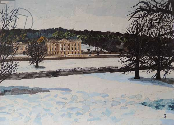 Chatsworth In The Snow