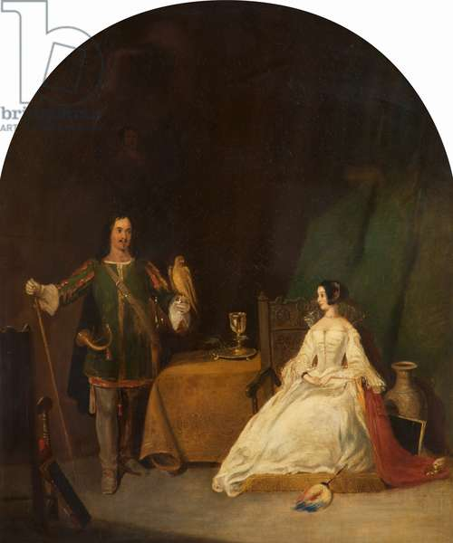 The Betrothed, 1820-32 (oil on canvas)
