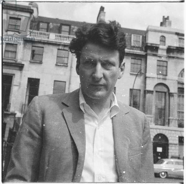 Lucian Freud, c.1964 (b/w photo)