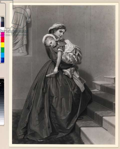 Returning from the Ball (engraving)