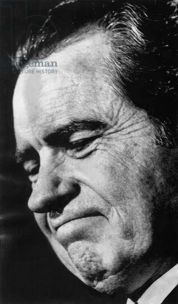 Nixon Presidency. US President Richard Nixon, 1972