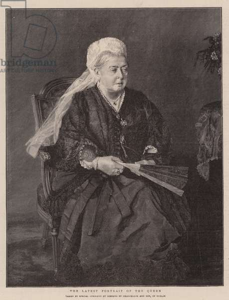 The Latest Portrait of the Queen (engraving)
