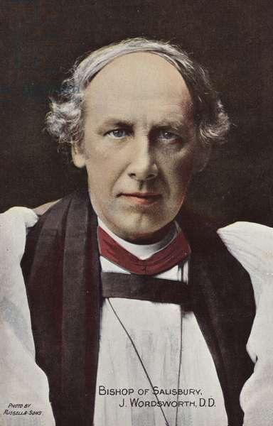 Bishop of Salisbury, J Wordsworth, DD (photo)