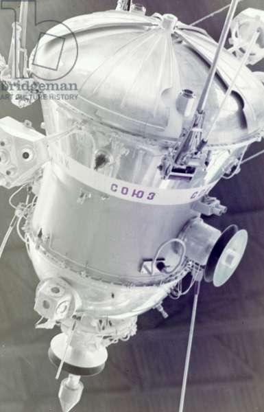 Sputnik 2 Space Capsule.