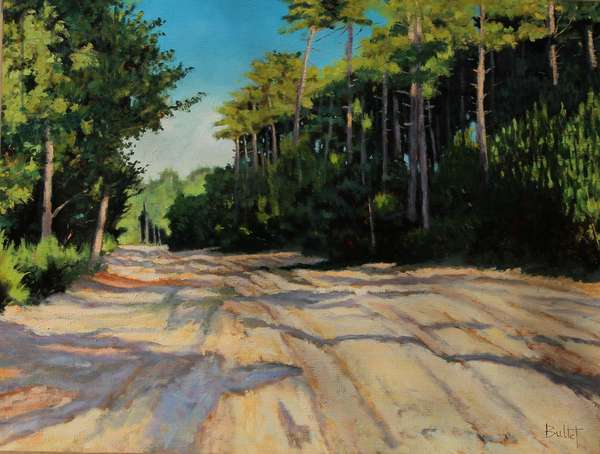 Way of Gironde (oil painting)