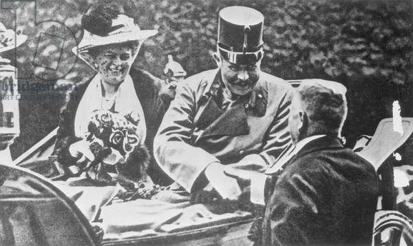 Franz Ferdinand, 1914 (b/w photo)