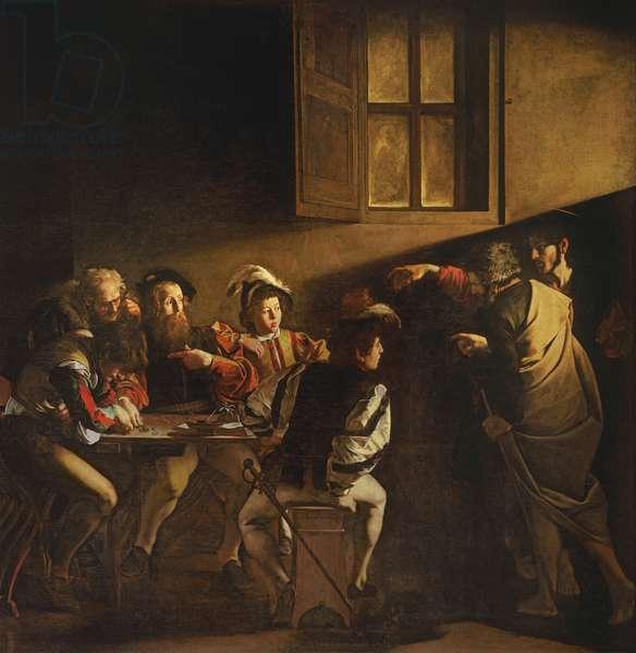 The Calling of St. Matthew, c.1598-1601 (oil on panel)