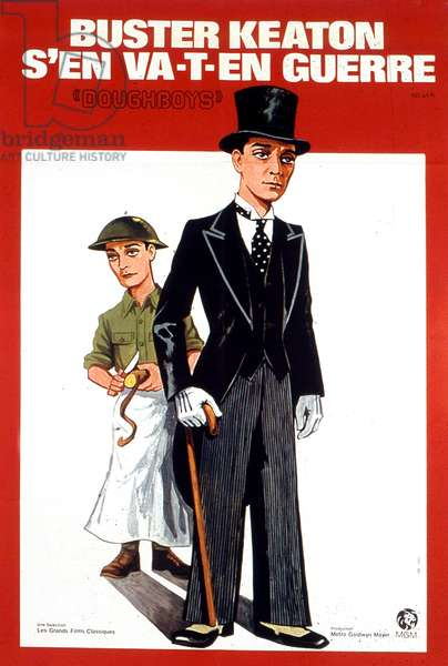 Affiche du film Doughboysde EdwardSedgwick avec Buster Keaton et Sally Eilers 1930