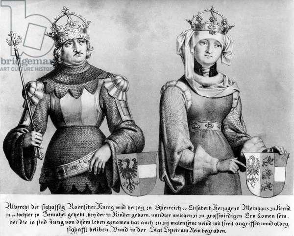 Albrecht I, Holy Roman Emperor (engraving)