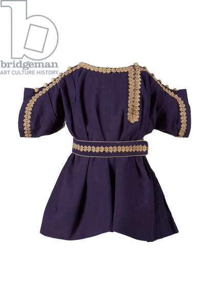 Tunic worn by Albert Edward, Prince of Wales, 1840-50