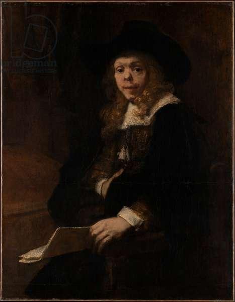 Portrait of Gerard de Lairesse, 1665-67 (oil on canvas)