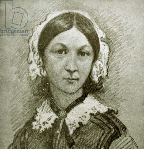 Florence Nightingale who brought hope and healing to wounded soldiers in the Crimean War.