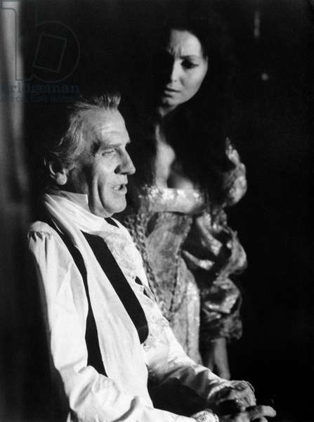 Massimo Girotti and Rosanna Schiaffino in 'Cagliostro'