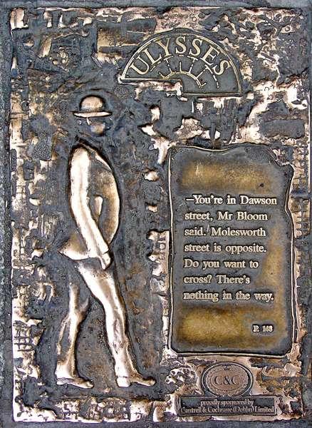 James Joyce - pavement