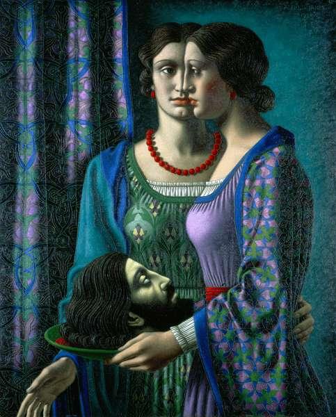 Salome, 1938 (oil on canvas)