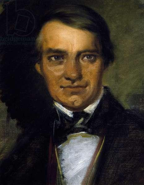 Self-portrait by Ferdinand Schubert (1794-1859), brother of composer Franz Schubert (1797-1828)