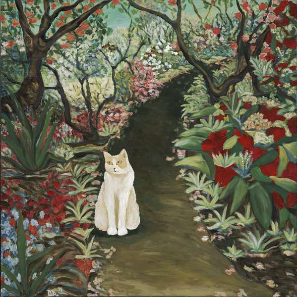 Garden Dream, 2019 (acrylic on canvas)