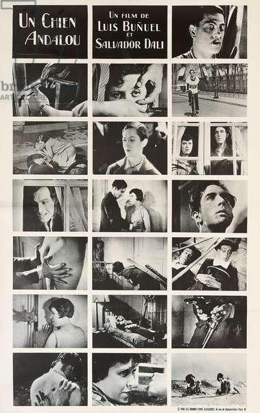 Poster for 'Un Chien Andalou', 1968 (litho)
