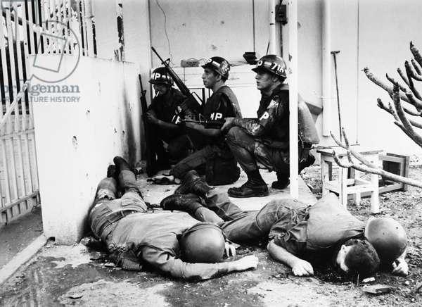 VIETNAM WAR: TET OFFENSIVE 1968 (b/w photo)