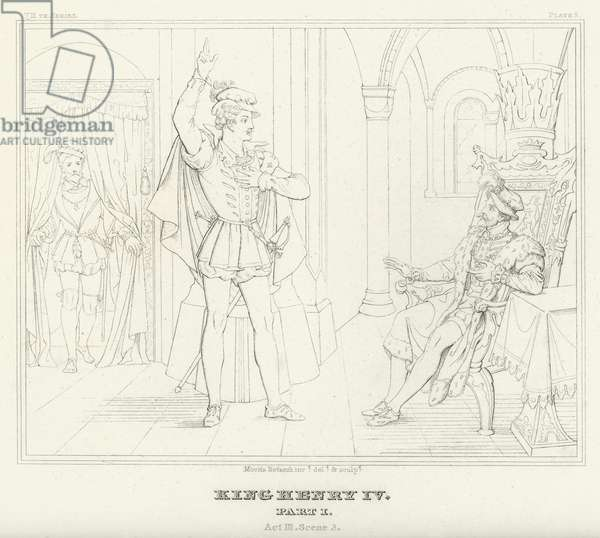 King Henry IV, Part I, Act III, Scene 3 (engraving)