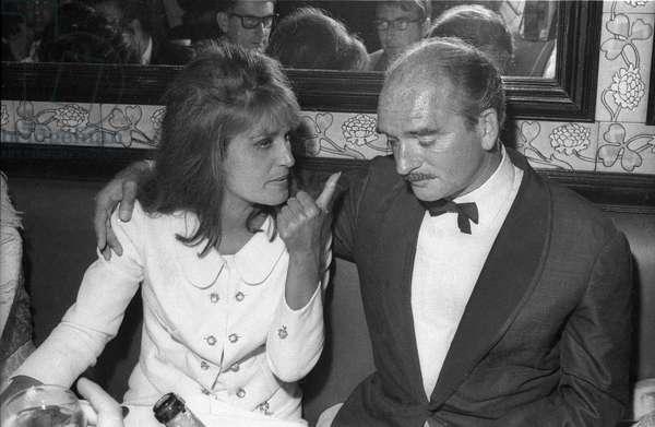 Dalida and Eddie Barclay
