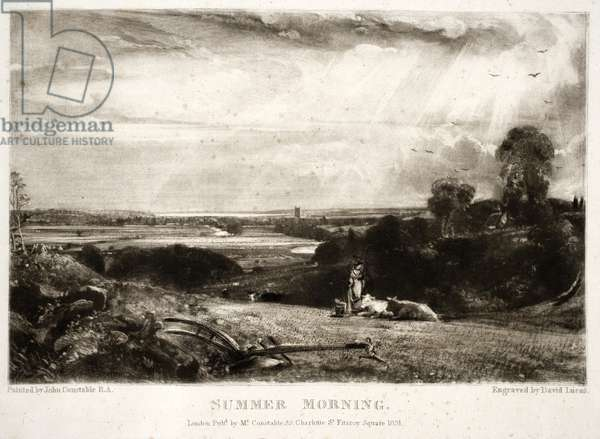 Summer Morning, from Various Subjects of Landscape Characteristic of English Scenery, engraved by David Lucas (1802-81), 1830-33 (mezzotint)