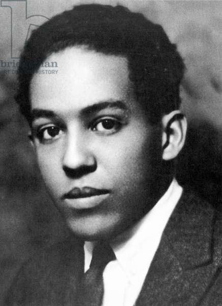 LANGSTON HUGHES (1902-1967). American writer. Photographed in the 1920s by Nickolas Muray.