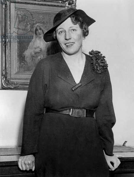 Pearl S. Buck, 1935 (b/w photo)