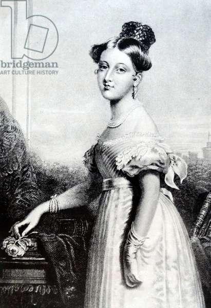 Queen Victoria of Great Britain, 1835